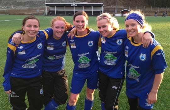 Fotball: OIF-damene med 12-0 på to kamper